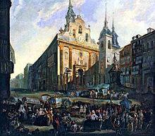 Convento de la Victoria. Fondo a la derecha