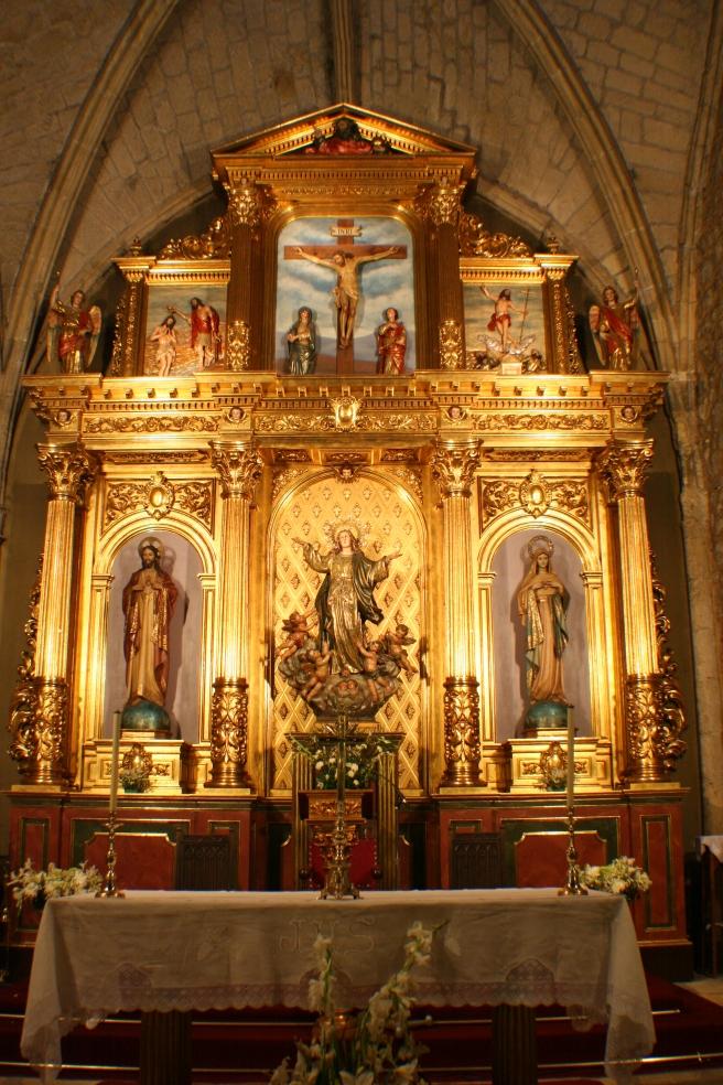 Iglesia de la Asunción de Nuestra Señora de El Molar - Interior (2)