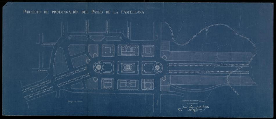 Proyecto para la construccion de una gran plaza de América en el hipodromo y prolongacion de la Castellana.png