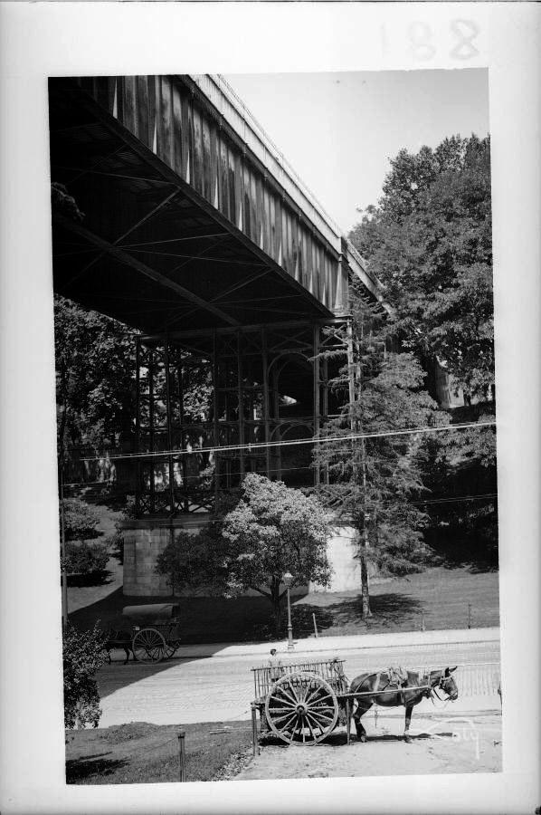 1930, Calle de Segovia y viaducto,