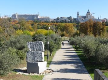 Parque Madrid Rio - Antigua Huerta de la Partida