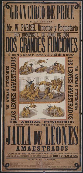 Circo Price 1884