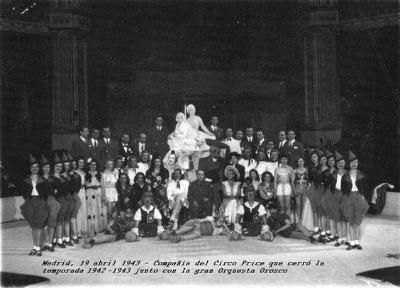 Compañía del Circo Price (Madrid), que cerró la temporada 1942-1943 junto a la Orquesta Orozco.jpg