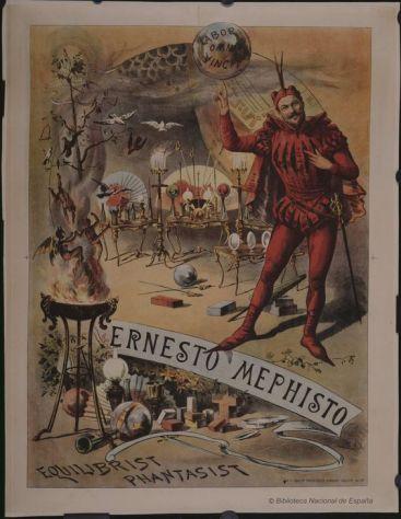 ernesto-mephisto-circo-price-dibujos-grabados-y-fotografias-1889-1889