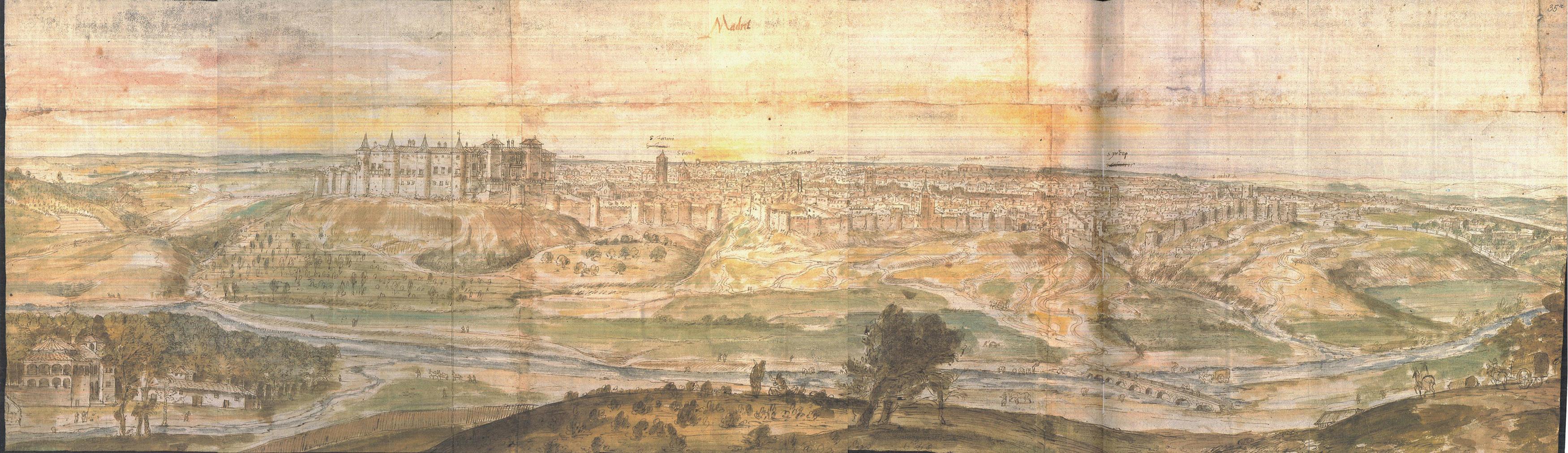 1562, Vista de Madrid Anton Van der Wyngaerde.jpg
