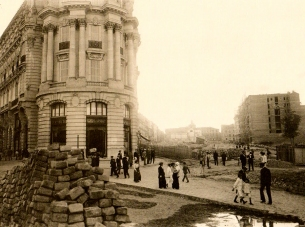 Comienzo de las obras en 1912