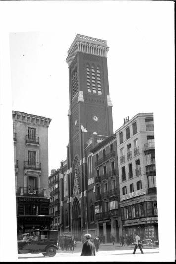 Iglesia de Santa Cruz en 1930
