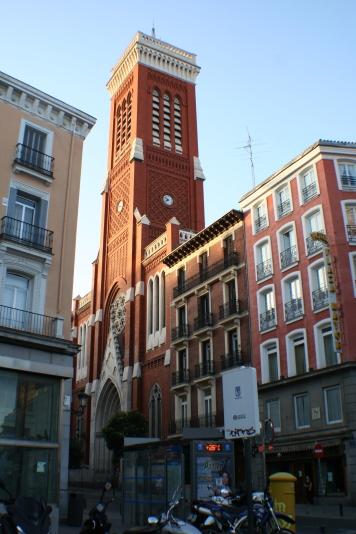 Iglesia de Santa Cruz en 2016