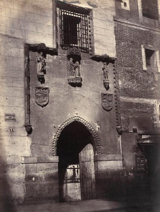 1857-fachada-del-convento-hospital-de-la-latina