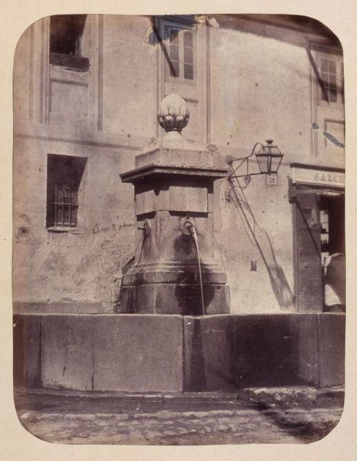 1864, Fuente vecinal en la Calle de Cabestreros