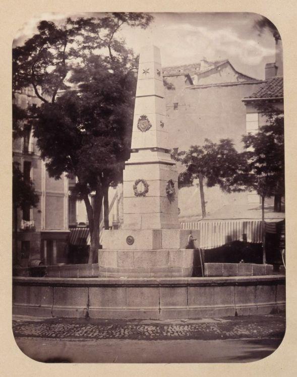 1864, Fuente vecinal en la Plaza del Príncipe Alfonso