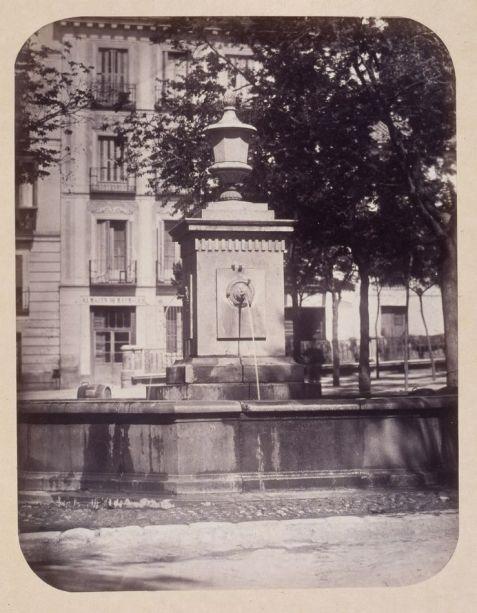 1864, Fuente vecinal en la Plazuela de Bilbao