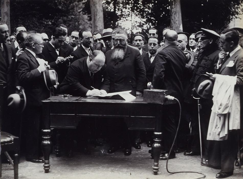 1931, Cesión de la Casa de Campo al Ayuntamiento de Madrid.