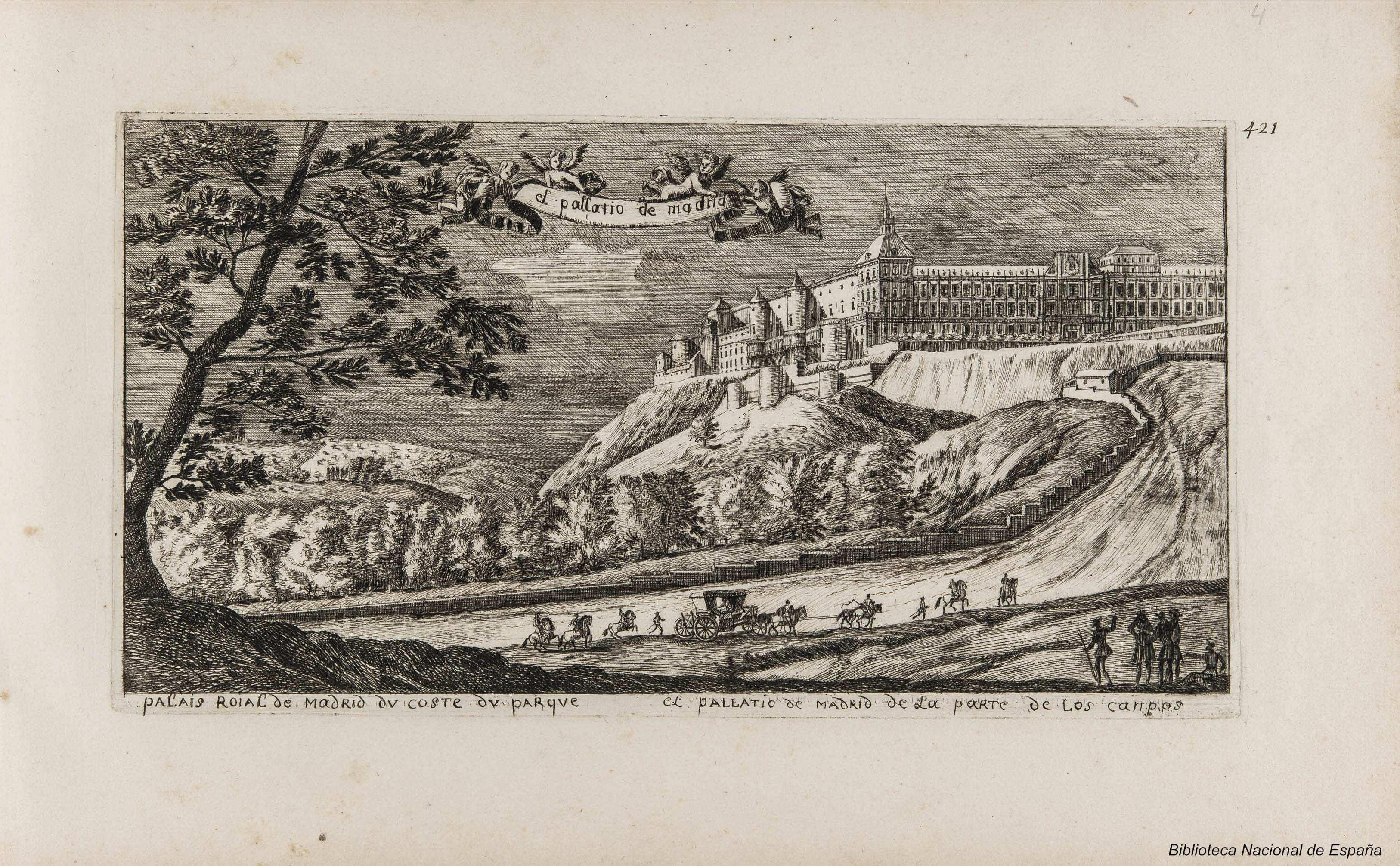 El Alcázar desde la Casa de Campo