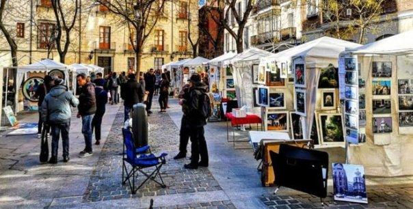 mercado de pintores